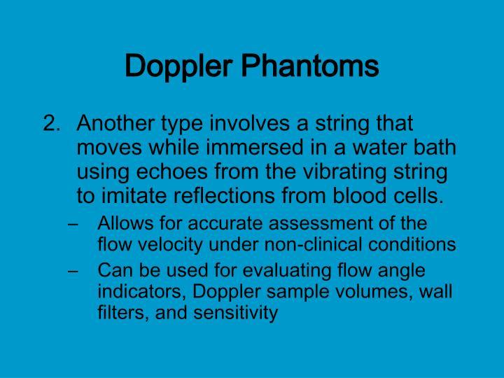 Doppler Phantoms