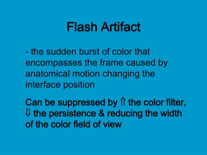 Flash Artifact