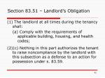 section 83 51 landlord s obligation1