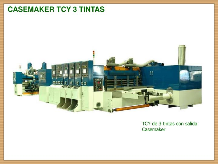 CASEMAKER TCY 3 TINTAS