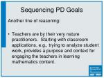 sequencing pd goals1