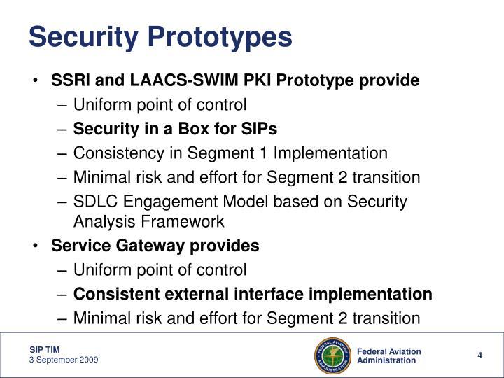 Security Prototypes