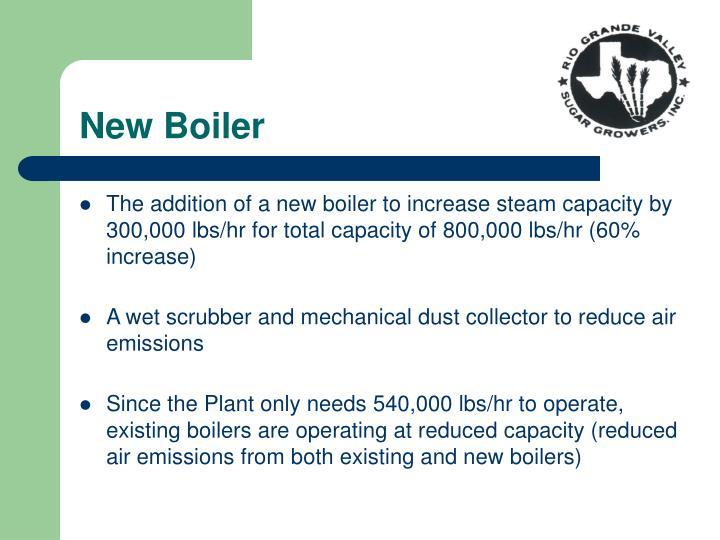 New Boiler