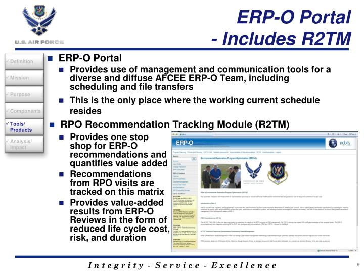 ERP-O Portal