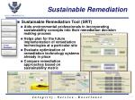 sustainable remediation