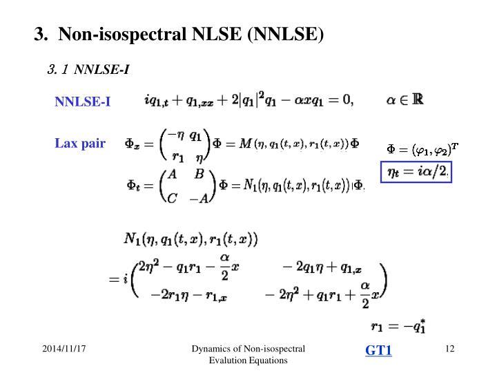 NNLSE-I