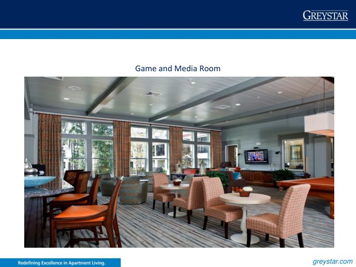 Game and Media Room