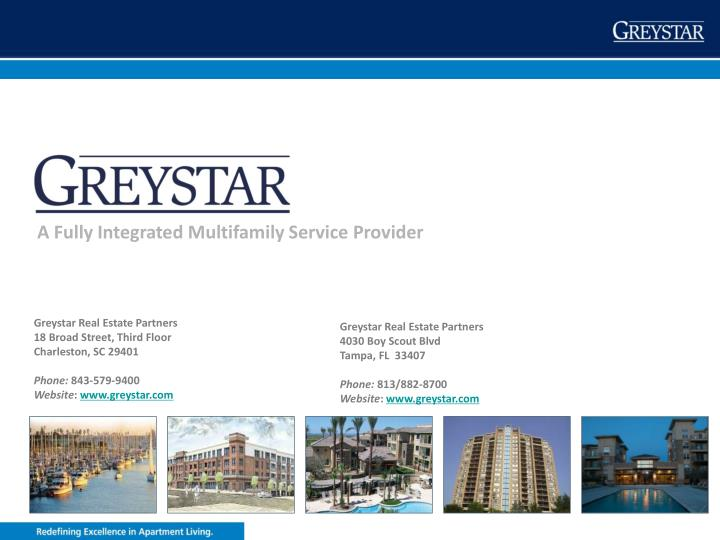 A Fully Integrated Multifamily Service Provider