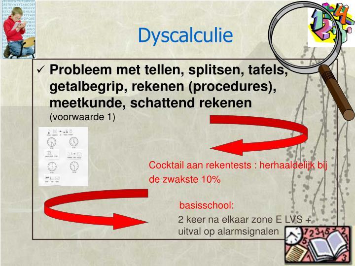 Dyscalculie