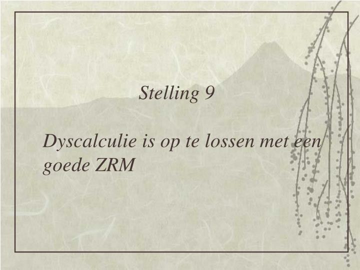 Stelling 9
