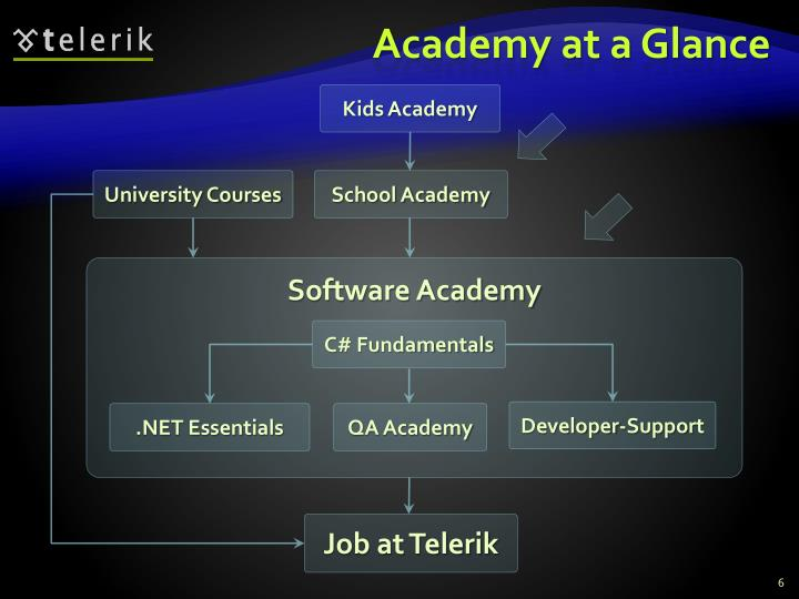 Academy at a Glance