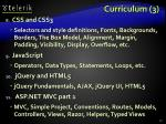 curriculum 3