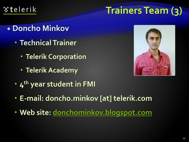 Trainers Team (3)