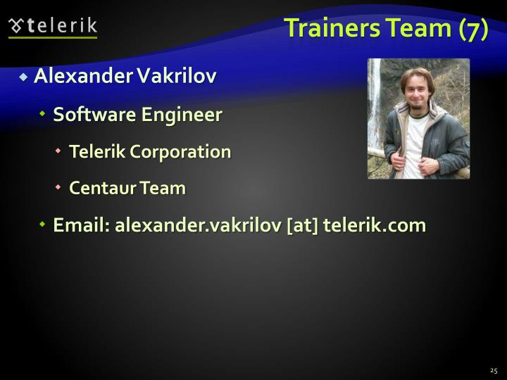 Trainers Team (7)