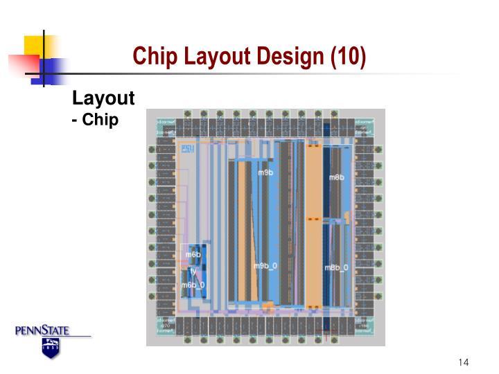 Chip Layout Design (10)