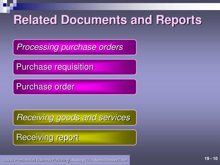 Related Documents and Reports