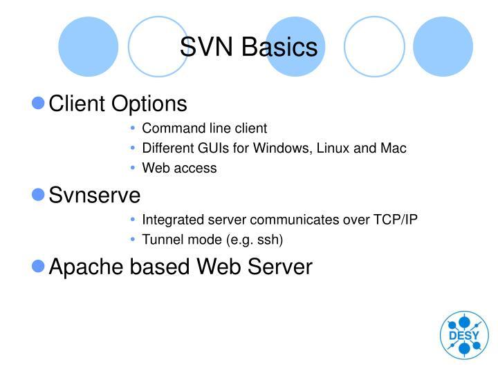 SVN Basics