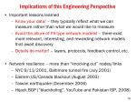 implications of this engineering perspective