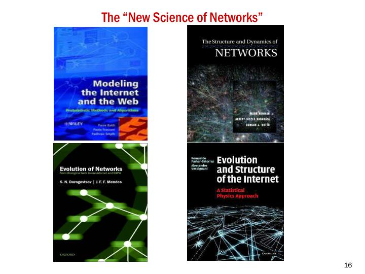 """The """"New Science of Networks"""""""