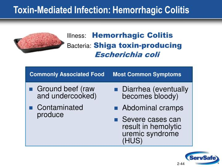 Toxin-Mediated Infection: