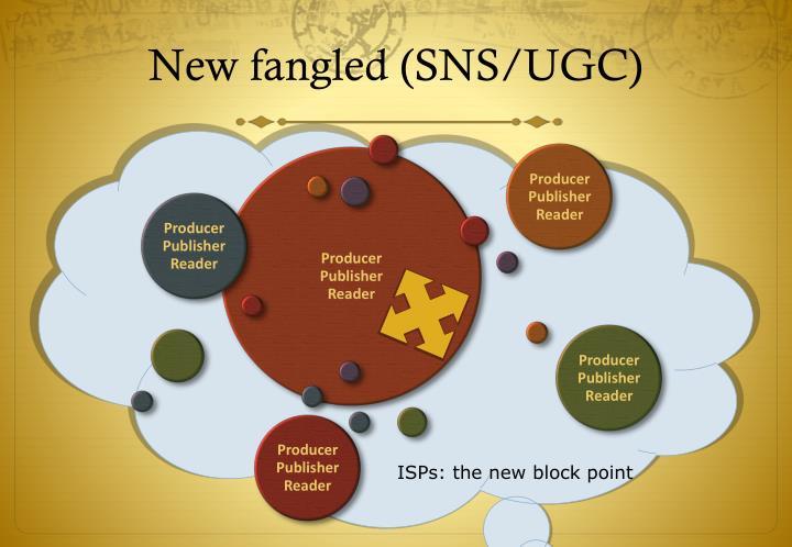 New fangled (SNS/UGC)