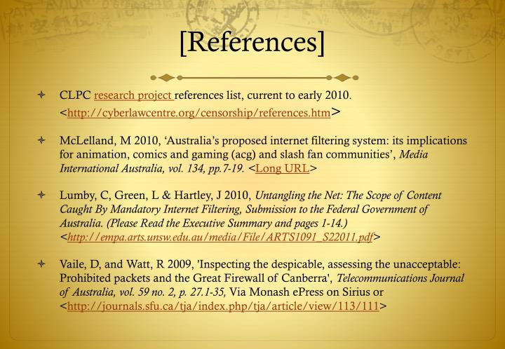 [References]