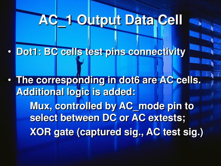 AC_1 Output Data Cell