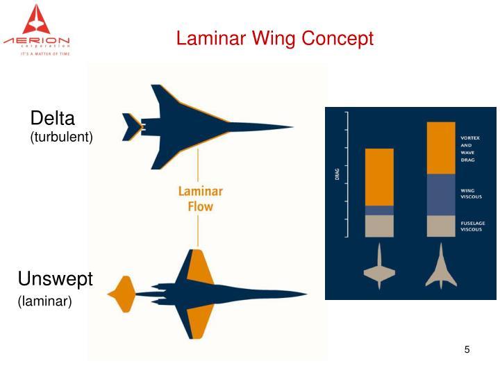 Laminar Wing Concept