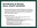 introduction review about adapp advance