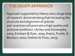 the adapp approach