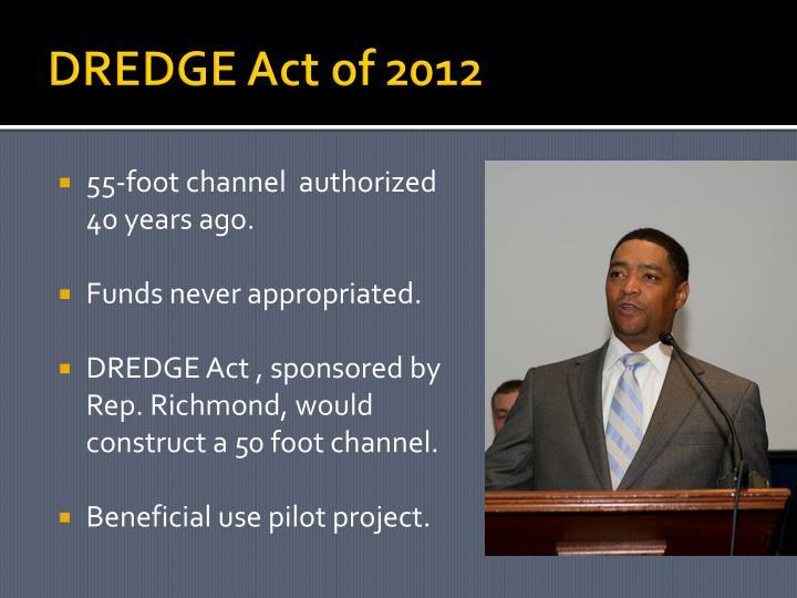 DREDGE Act of 2012