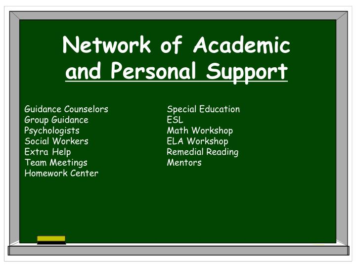 Network of Academic