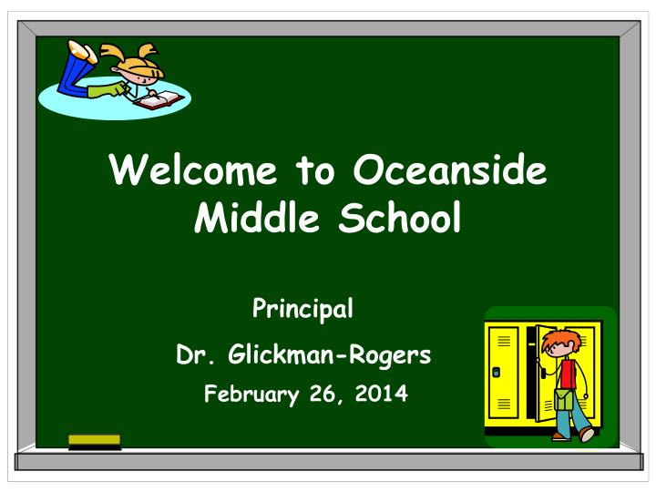 Welcome to Oceanside Middle School