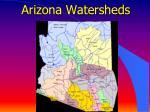 arizona watersheds