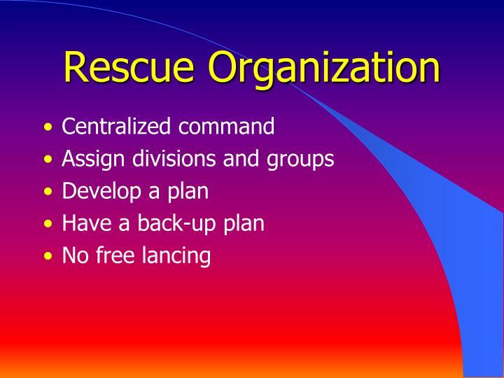 Rescue Organization
