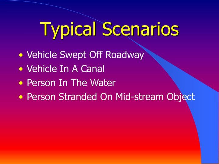 Typical Scenarios