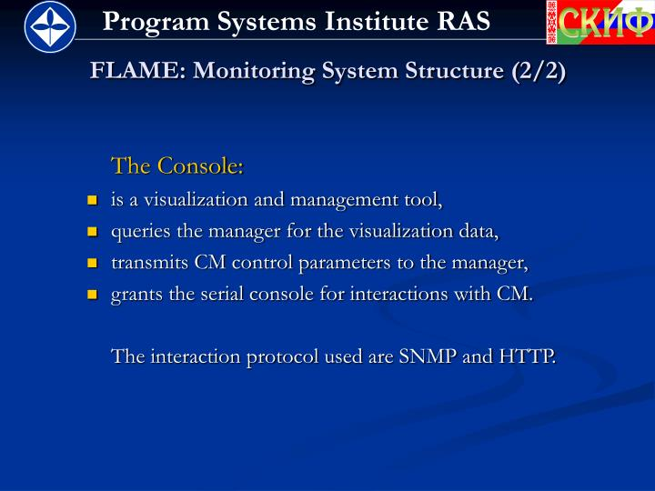 FLAME: Monitoring System Structure (2/2)