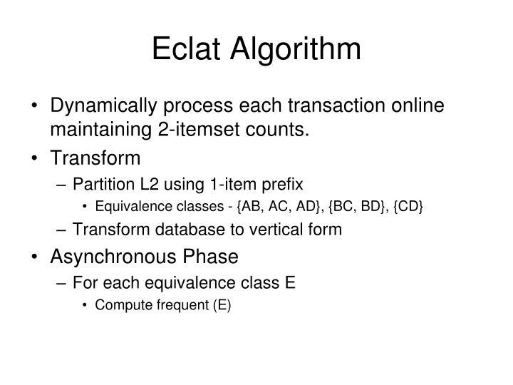 Eclat Algorithm