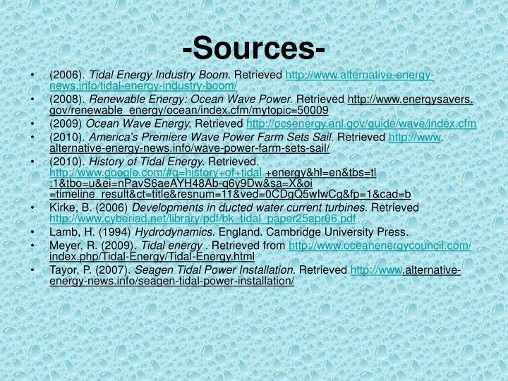 -Sources-