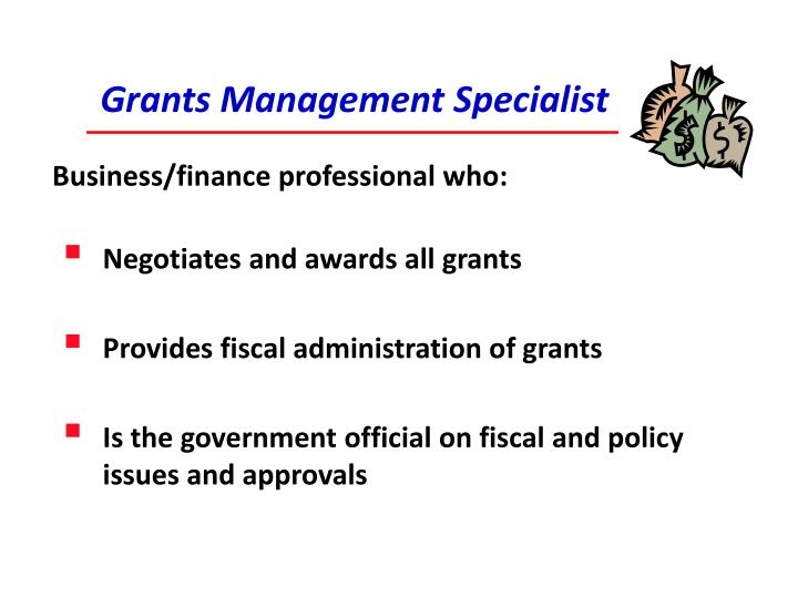 Grants Management Specialist