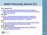 niaid fellowship awards fs