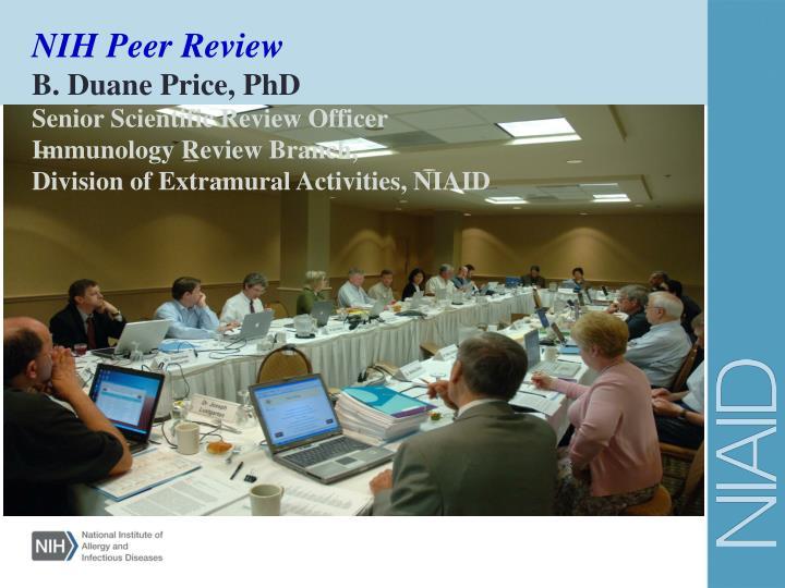 NIH Peer Review