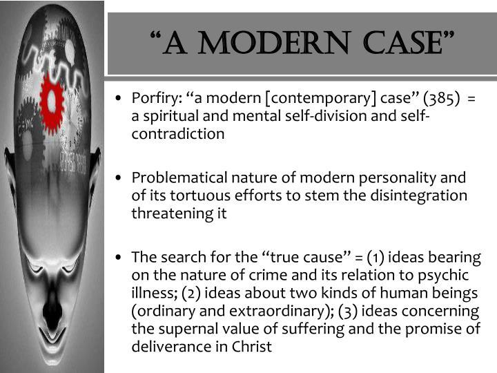 """""""A modern case"""""""
