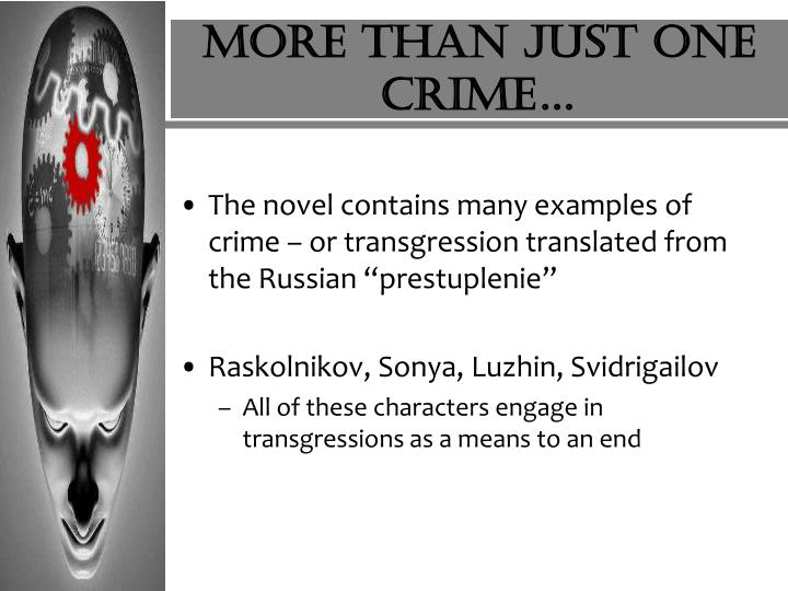 More than just one crime…