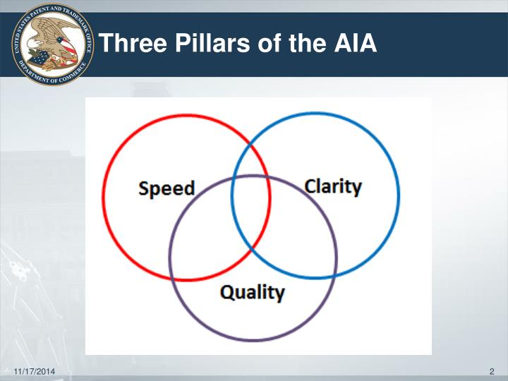Three pillars of the aia