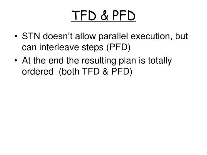 TFD & PFD