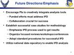 future directions emphasis