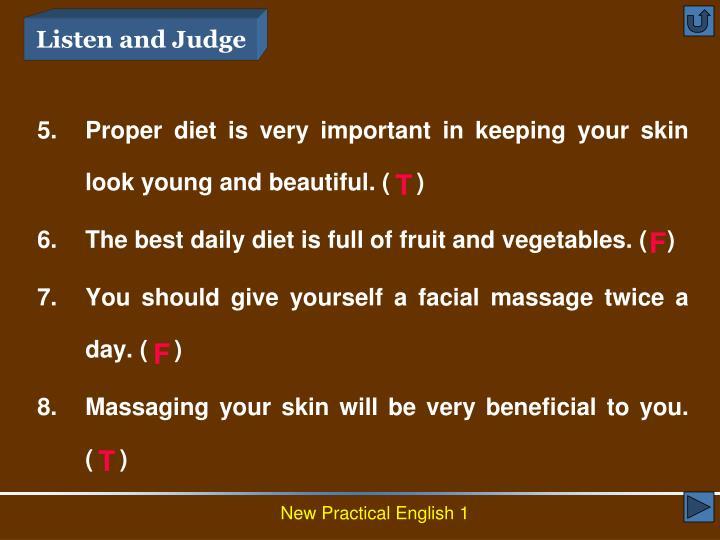 Listen and Judge