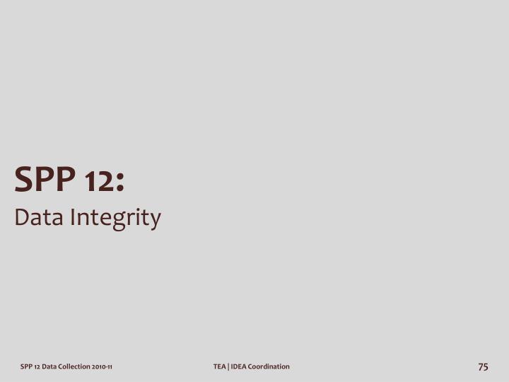 SPP 12: