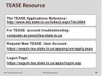 tease resource